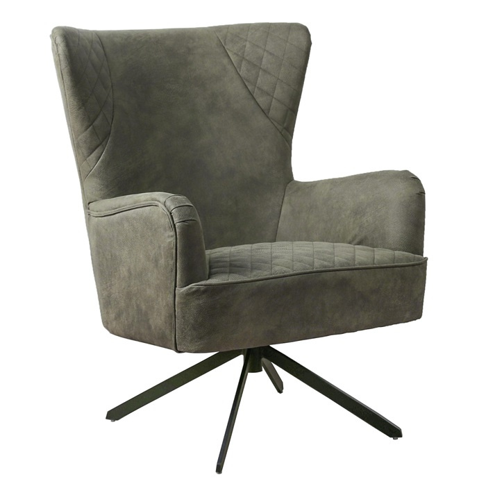 Draaifauteuil King Dark Green