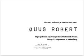 Kaart | Guus Label