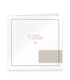 Kaart | Billie