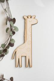 """Muurdecoratie """"Giraf"""""""