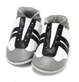 Babyslofjes Jogger zwart-wit
