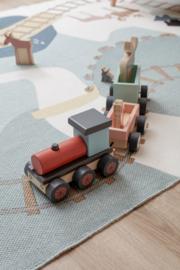 Kids Concept trein met bosdieren
