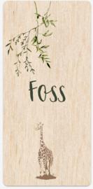 Kaart | Foss