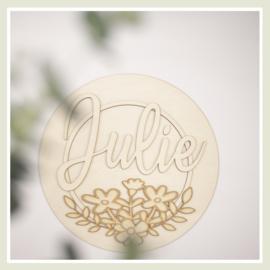 Naambord |Julie
