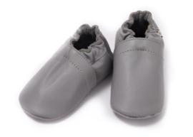 Babyslofjes effen grijs