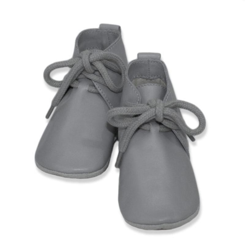 Babyslofjes hoog grijs