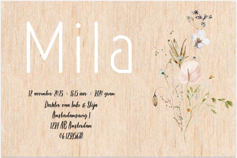 Kaart   Mila