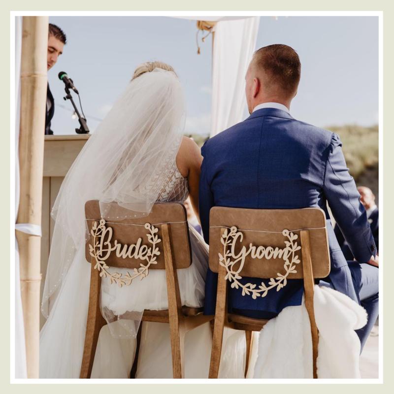 Bride & Groom Hanger