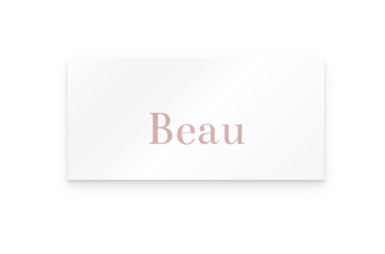 Kaart   Beau