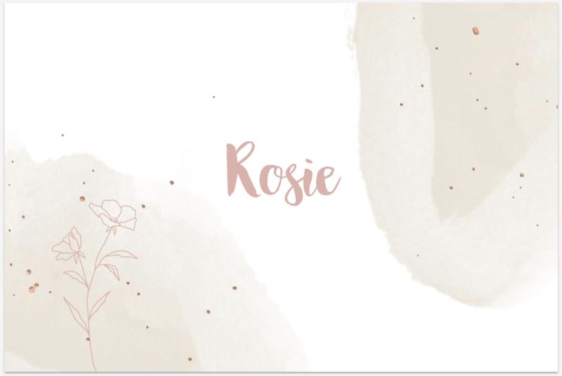 Kaart   Rosie