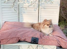 Hondenkussen roze