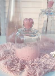 Kleine pot roze hart