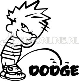 """Calvin """"piss dodge"""""""