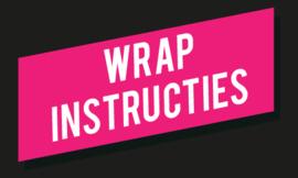 Wrap instructies