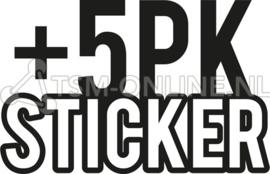 +5PK Sticker