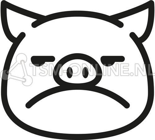 Annoyed Pig