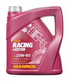 7902  Racing+Ester 10W-60 API SN/SM/CF  4 LTR