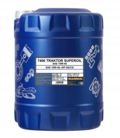 7406 Traktor Superoil API SG / CD  15W40     20LTR