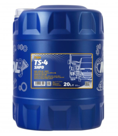 7104 TS-4 SHPD 15W-40 API CI-4/CH-4/CG-4/CF-4/CF/SL         20LTR