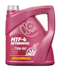 8104  MTF-4 Getriebeoel 75W-80 API GL-4/GL-5    4LTR