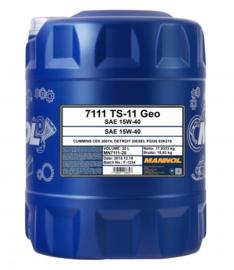 7111  TS-11 SHPD 15W-40 Geo       20LTR