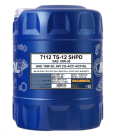 7112 TS-12 SHPD 10W-30 API CG-4/CF-4/CF/SL     20LTR
