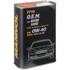 7719 O.E.M. 0W-40 API SN/CF  BMW / MINI   12X1LTR