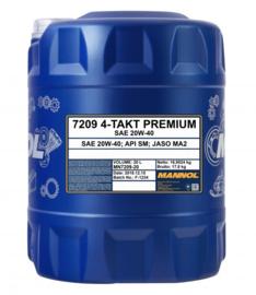 7209 4-Takt Premium 20W-40  API SM        20LTR
