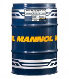 8102 Maxpower 4x4 75W-140 API GL-5 LS    60LTR