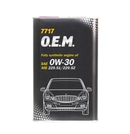 7717 O.E.M. 0W-30 API SN/CF  MERCEDES-BENZ     1LTR