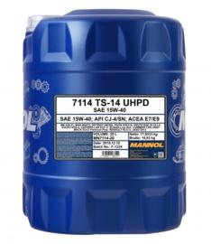 7114 TS-14 UHPD 15W-40 API CJ-4/SN      20LTR