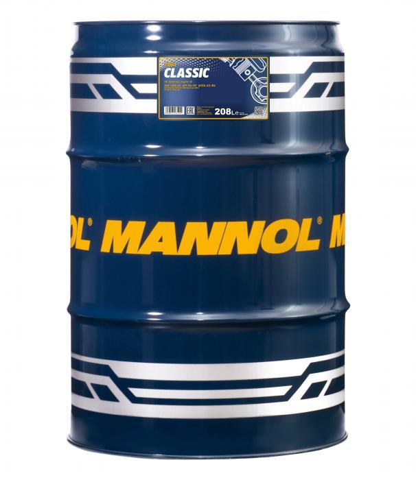 MANNOL Classic 10W-40 API SN/CH-4    208 LTR
