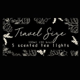 Travel size , 5 tealights - Volume 1