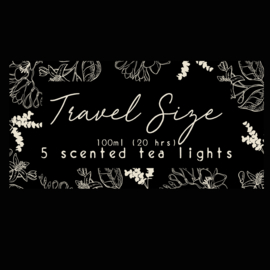 Travel size , 5 tealights - Volume 2