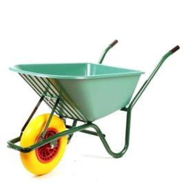 Kruiwagen met anti-lek wiel