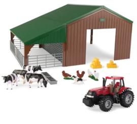 Tractor en Schuur Speelset (36 delig)