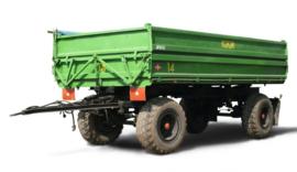 Fortschritt HW 80 HA 4-wielige Aanhanger Groen