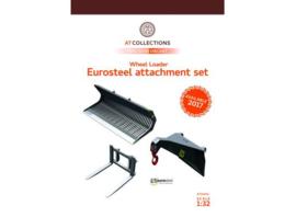 Eurosteel ES Bakkenset (3 delig) Shovel