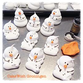 Smeltende sneeuwpopjes