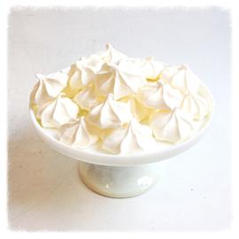 Meringue ster wit vanille