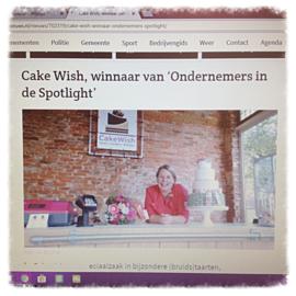 SweetMeringue  & CakeWish winnaar leukste winkel van Groningen 2018