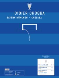Poster - Drogba 2012 goal