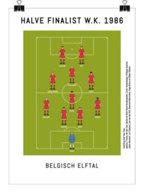 Poster - België 1986