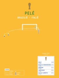 Poster - Pele 1970 goal