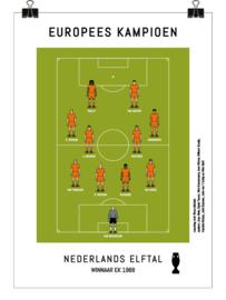 Poster - Nederlands elftal 1988