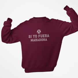 Voetbal sweater - Si yo fuera Maradona