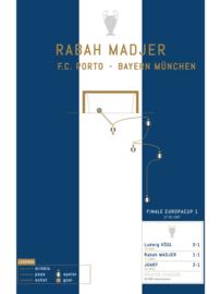 Poster - Madjer 1987 goal