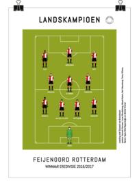 Poster - Feyenoord 2017 kampioen