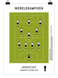 Poster - Argentinië 1978
