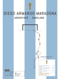 Poster - Maradona 1986 goal
